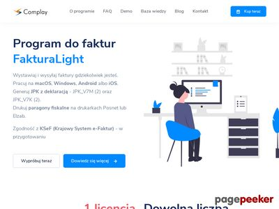 Fakturalight.pl - program do fakturowania